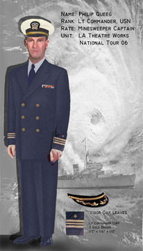 Lt Cmdr Queeg, USN Minesweeper Captain